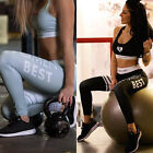 Women Sports Gym Yoga Exercise Running Pants Elastic Skinny Leggings Plus Size