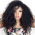 "12""-22"" Long kinky curly 100% Remy Indian Human Hair Full  /Front Lace Wigs"
