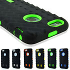 SHOCKPROOF Rugged Rubber Silicone Case Cover Phone Bag For iPhone 5 6 6S 7 Plus