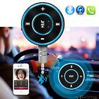 Handsfree Bluetooth Wireless Car AUX Stereo Audio Receiver 3.5mm Music Dongle 5V