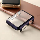 For Apple Watch iWatch 2 Metal Plated Hard Bumper Ultra Slim Case Cover 38/42mm