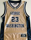 GEORGE WASHINGTON COLONIALS YOUTH BASKETBALL JERSEY NCAA #23 NEW! YOUTH S., OR L