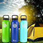 40oz Double Wall Vacuum Insulated Stainless Steel Water Bottle Flask Guide USA