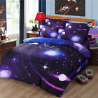 Space Duvet Quilt Cover Set Doona Covers King Queen Double Size Bed Brand New