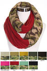 ScarvesMe C.C Hot and New Cable Knit Warm Winter Camo Camouflage Infinity Scarf