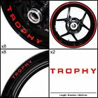Triumph Trophy Motorcycle Sticker Decal Graphic kit SPKFP1TR016 $62.05 USD on eBay