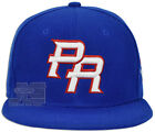 PR Fitted Caps Puerto Rico Embroidered Front Side Baseball Size hats Adult New