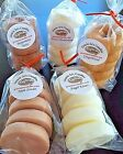 Wax Tart Melts 8 oz 10 pc Grubby Doughnut Candles 250 Scents-Pick Your Favorite