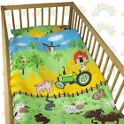 cot bedding set 2 PIECE baby BED SET DUVET cover PILLOW case FITTED SHEET <br/> ❤CHEAPEST ON EBAY❤buy 2 or more &amp; get 10% OFF❤3 SIZES❤
