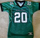 NORTH TEXAS MEAN GREEN NCAA FOOTBALL JERSEY #20 GIRLS/LADIES SMALL, LARGE, OR XL