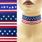 "Patriotic Choker 1.5"" custom necklace Independence Day 4th of July America USA"