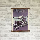Bugatti Car 1932 Advertisement Print with Oak Hanger