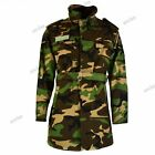 Original Slovakian army jacket trench coat parka Rip Stop DPM camouflage  NEW