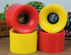 penny board and skateboard - 4 pcs/lot skateboard wheels Parts for penny board Longboarding 59x45mm PU 78A