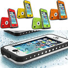 DURABLE WATERPROOF SHOCKPROOF DIRTPROOF FULL CASE COVER FOR APPLE IPHONE 5C 5 5S