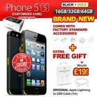 New & Sealed Factory Unlocked APPLE iPhone 5S 16 32 64GB Black Gold 1 Yr Wrty