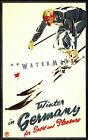 Vintage Ski Germany Winter In Germany 1935 Poster Winter Sports Travel Print