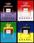 Vintage Poster Chanel**5 Colors Art Print Fashion Perfume Advert FREE US S/H