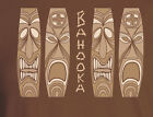 Tiki Bar Reproduction Bahooka  Matchbook T-Shirt