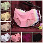 Women Lace Panties Briefs Knickers G-String Seamless Lingerie Underwear V String