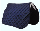 New Riding World Gel Pad Insert Saddle Cloth or Numnah Quilted Full Size Blue