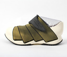 FESSURA Mens Mummy Shoes New Light White Ousole Gold Upper Color