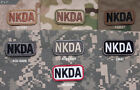 NKDA -No Known Drug Allergies Patch Hook Backed for Hook & Loop System Patch0098