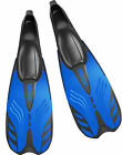 SEAC - Ala Full Foot Snorkel Fins Flippers - Lightweight Performance - Blue
