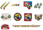 Fireman Sam Decorations Birthday Party Supplies Napkins Tableware Plates Cups