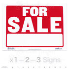 "FOR SALE Sign — 9x12"" inch Weatherproof Plastic : Sell Cars, Property x 1—2—3"