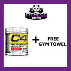 Cellucor C4 Pre Workout Explosive G4 Chrome Series 30 Servings Free gym towel