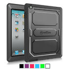 For Apple Ipad Hard Back Case Cover Full Protective W/ Impact Resistant Bumper