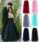 Long/Short Fashion Skirt Adult Maxi Vintage Lolita Petticoat Daily Falda Skirts