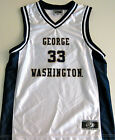 GEORGE WASHINGTON COLONIALS MENS BASKETBALL JERSEY NCAA #33 NEW! MEDIUM OR LARGE