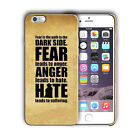 Star Wars Yoda Quotes Iphone 4 4s 5 5s 5c SE 6 6S 7 8 X XS Max XR Plus Case n3 $16.95 USD on eBay