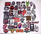 Heavy Metal Rock Retro Music Band Sew Iron On Embroidered Patch Applique DIY ART