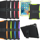 Hybrid HEAVY DUTY SHOCKPROOF KICKSTAND RUBBER HARD CASE COVER FOR APPLE IPAD PRO