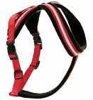 Halti Comfy Red & Black Reflective Dog Harness All Sizes Toy - XXL