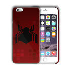 Spider-Man Logo Homecoming Iphone 4 4s 5 5s 5c SE 6 6s 7 + Plus Case Cover 10