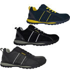 MENS LADIES GROUNDWORK LEATHER SAFETY STEEL TOE CAP WORK BOOT TRAINERS SHOE 3-13