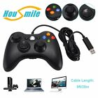 New Xbox360 Wired USB Game Controller for Xbox 360 Slim PC Windows 7 US