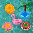 5x Inflatable Floating Swimming Pool Bath Beach Drink Can Beer Holder Boat Toys