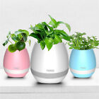 Flower Pot Vase Relief Stress Playing Piano LED Touch Control Bluetooth Speaker