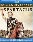 Spartacus (Blu-ray Disc, 2010, 50th Anniversary Edition)