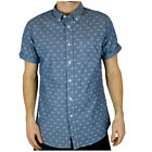 Crosshatch Mikey Slim Fit Casual Shirt   Mens Size
