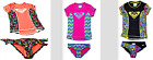 Roxy Girls Rash Guard Swim wear 2-Piece Set UPF 50+ Various