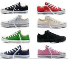 Mens Womens Casual Canvas Shoes All- Star Low Tops Chuck Taylor Sneakers Trainers