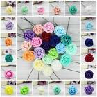 Home Garden - Colourfast Foam Roses Artificial Flower Wedding Bride Bouquet Party Decor Crafts