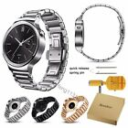 For Huawei Watch Band, Bandkin Stainless Steel Butterfly Link Strap + Adjuster