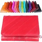 Women Card Wallet Card Purse 100% EEL Leather Bill Organizer R202